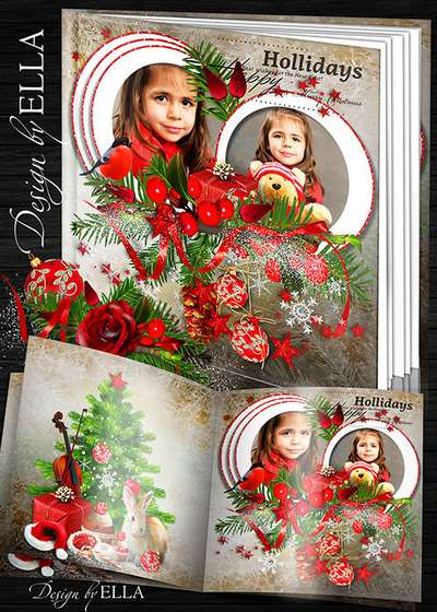 New Year's photobook-Merry Christmas Holiday