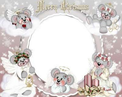 Free Christmas child frame psd Merry Christmas! - Free download