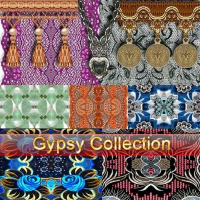 Clipart - Gypsy Collection