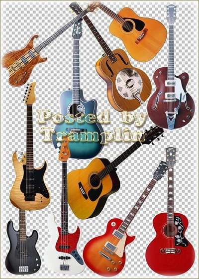 Clipart - Guitars free download