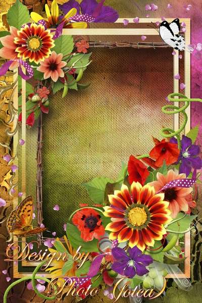 photo Frame - Flower history