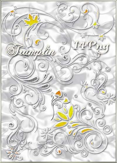Clipart in Png free download - a Silver curlicues