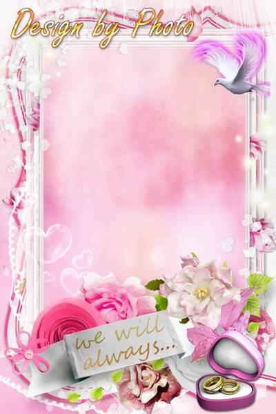 Wedding frame - Together forever