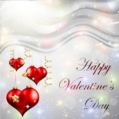 Multilayer PSD source (psd backgrounds) for Valentine's Day with red hearts
