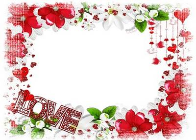 Frame in love download - Love (free frame psd + free frame png)