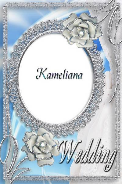 Wedding season from Kameliana- Wedding photo frame png template № 11 - Wedding