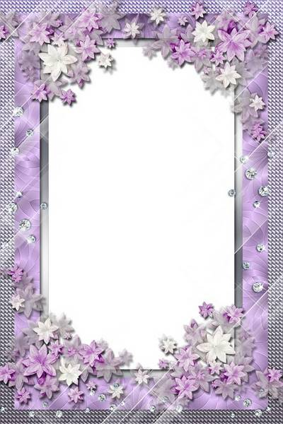 Women Photo Frame - Flower Charm