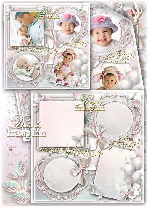 Childrens frame – a collage for the smallest or the album page