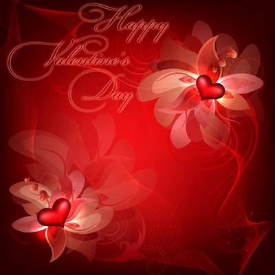 Download Valentine's Day PSD backgrounds - Happy Valentine's Day