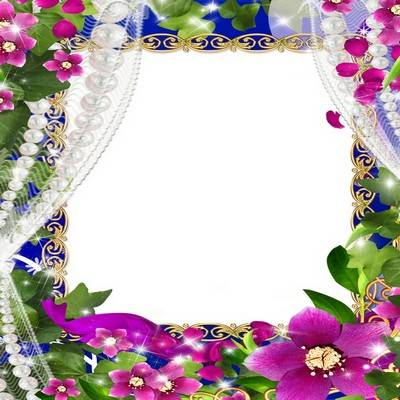 A woman PSD scope for photoshop is Flowers and pearls