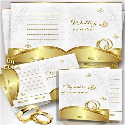 Multilayer PSD source-Wedding invitation by ELLA 6