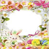 Set of Celebratory Photoframes - Light Happy Easter! (Part 2)