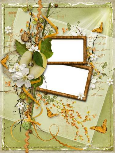 Collection of children's frames autumn - Autumn, fall, please visit