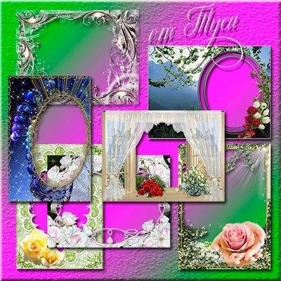 A collection flowers frames png - Always beautiful and sweet