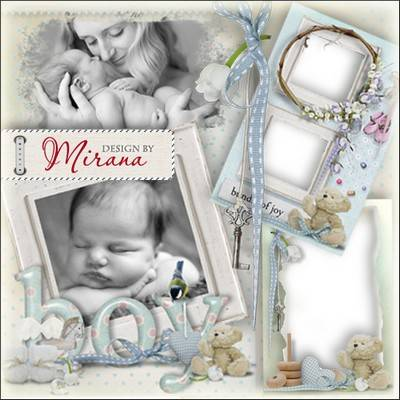 Collection of children's frames - Bundle of joy