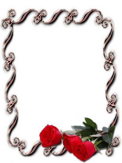 The original 9 PNG gold frame-notch with flowers