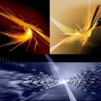 Multifokus abstract backgrounds PSD - 3