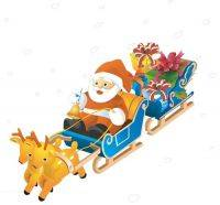 Christmas clipart png - reindeer, sleighs and sleds 141 PNG images