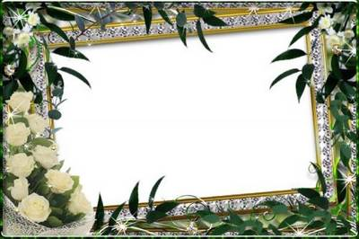 Set of frames in the format png - The spring sun