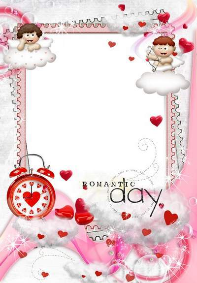 Romantic photo frame - What is love