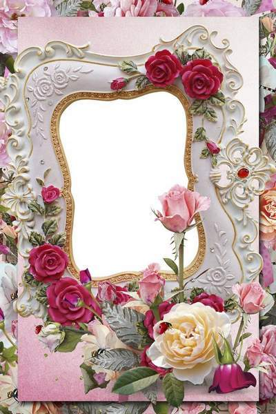 Romantic photo frame - Vintage