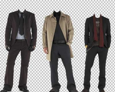 Men's suits for Photoshop - Autumn, Spring