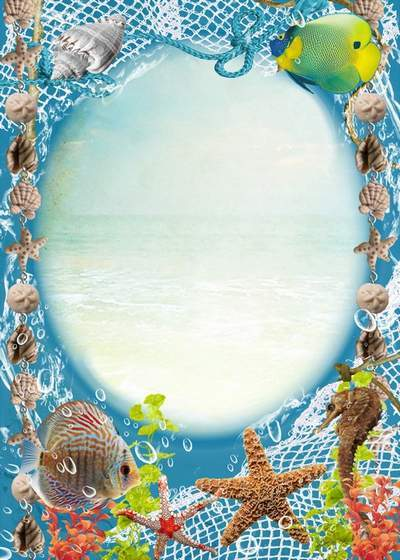 Sea frame - Beauty and richness of the deep sea