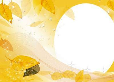 PSD, PNG Photoframe - Autumn dream