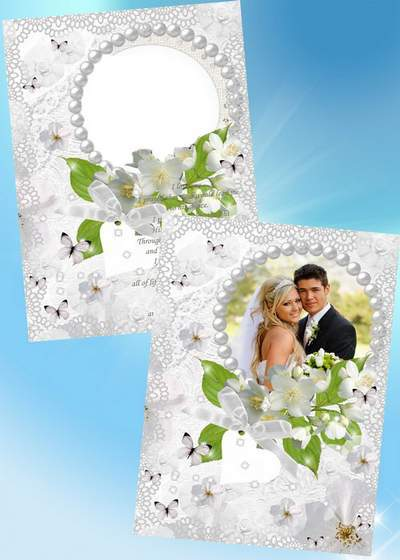 Frames for Photoshop - Wedding is one of the most important days in our lives