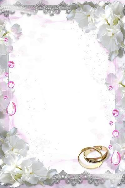 Wedding Frame - Texture of Rings
