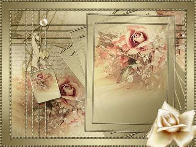 PSD Frame - Rose Gold