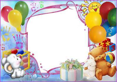 Children Frame - Sweet Birthday