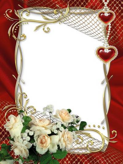 Wedding photo frame - You my love