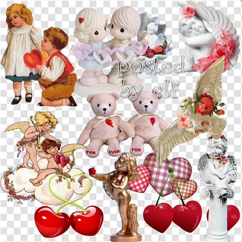 Love Clipart png images - Heart png,  bears, angels download