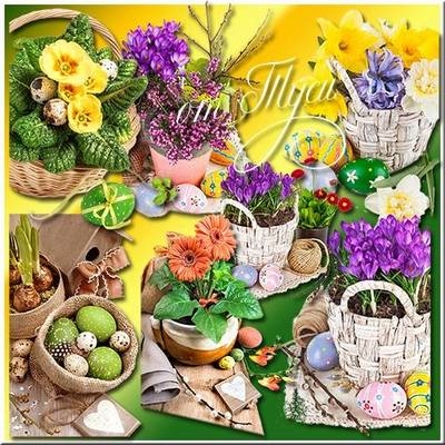 Clipart by Easter - Easter morning, a wonderful morning