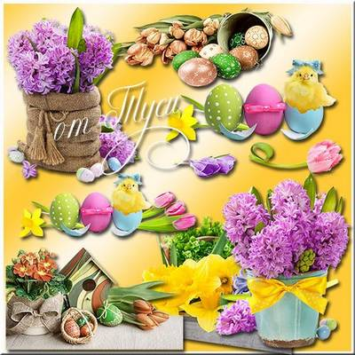 Clipart for Easter - Spring has come again