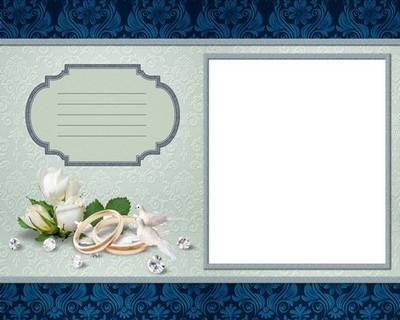 Damask Wedding Album