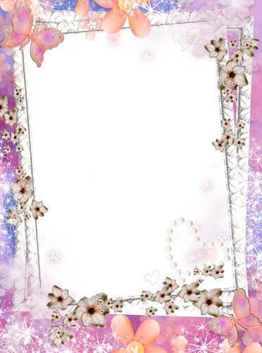 Photo frames with flowers - So many beautiful in the world