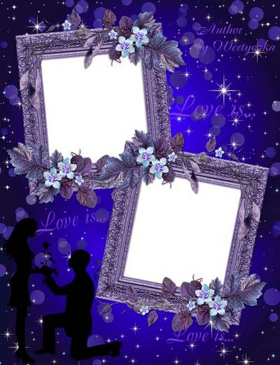 Frame for Photoshop - Love is