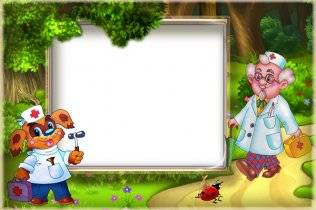 Frames for photoshop - Collection for children