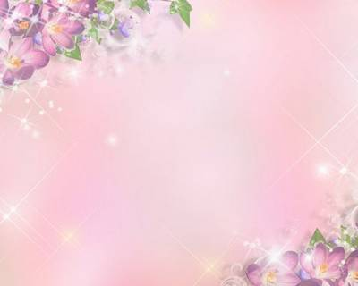 Floral holiday backgrounds pink shades