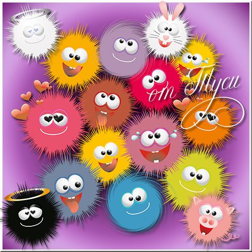 Toys clipart - Planet of good friends