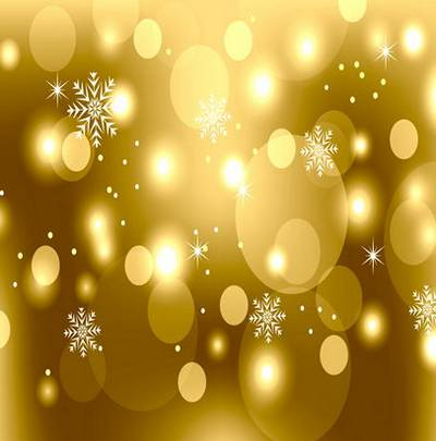 New Year backgrounds with snowflakes and patches of light
