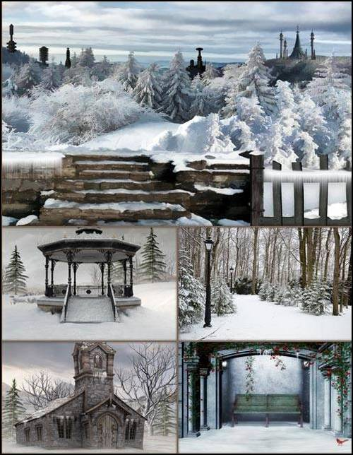 Fabulous winter backgrounds