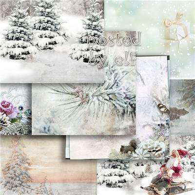 Backgrounds Christmas and Winter