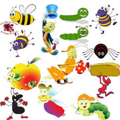 Free png images Cartoon insects - 29 PNG, 4000х4000 px, free download from google drive