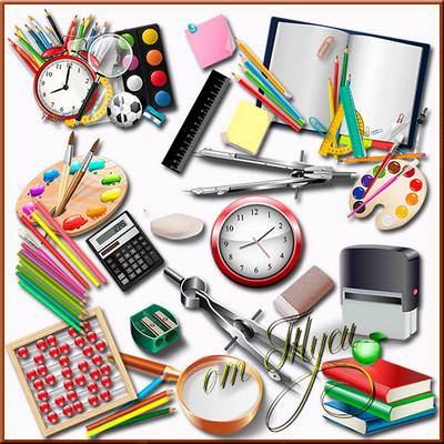 School Clipart free download - School Supplies