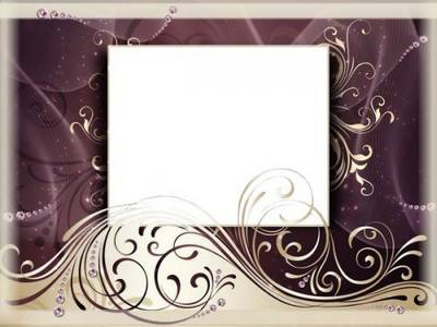 Free Glamour photo frame psd template free download