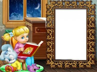Free Children photo frame psd template free download