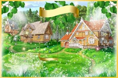 Vignette for kindergarten - Forest tale